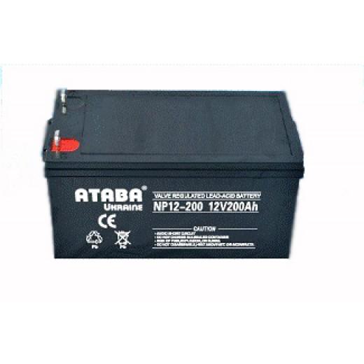 ATABA 12V200AH - описания, отзывы, подробная характеристика