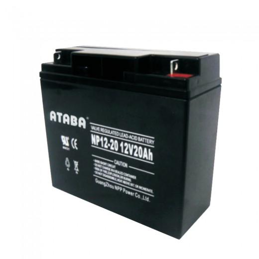 ATABA AGM 12V 26Ah - описания, отзывы, подробная характеристика