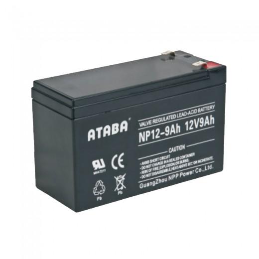 ATABA AGM 12V 9Ah - описания, отзывы, подробная характеристика