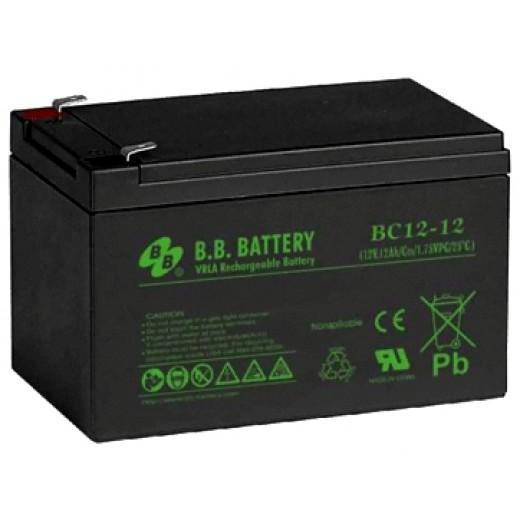 BB Battery BС 12-12 FR - описания, отзывы, подробная характеристика