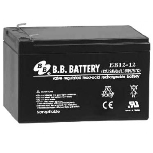 BB Battery EB12-12 - описания, отзывы, подробная характеристика