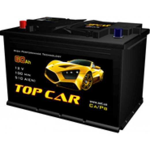 TOP CAR 6СТ-60Ah R+ 510A (EN) - описания, отзывы, подробная характеристика
