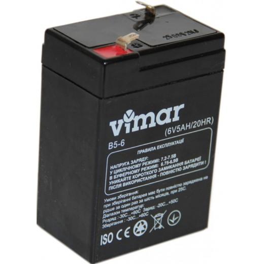 VIMAR B5-6 6В 5Ah - описания, отзывы, подробная характеристика