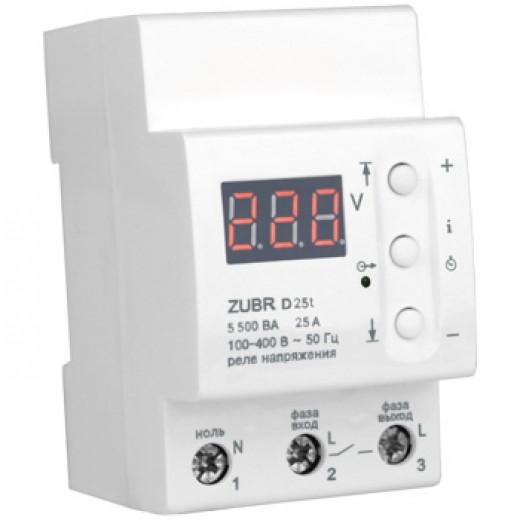 ZUBR D25t - реле напряжения - описания, отзывы, подробная характеристика