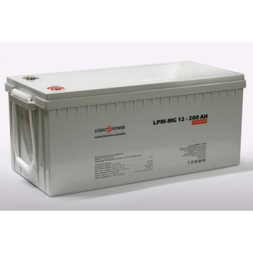 LogicPower LPM-MG 12V 200AH - описания, отзывы, подробная характеристика