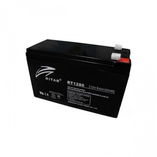 12V 8Ah Ritar Power RT1280E - описания, отзывы, подробная характеристика