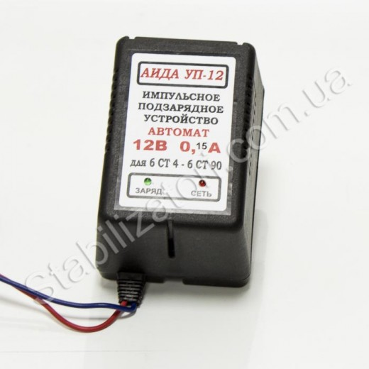 АИДА УП-12 ток заряда 0,15 А - описания, отзывы, подробная характеристика