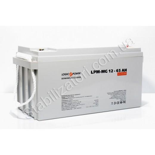 LogicPower LPM-GL 12V 65AH - описания, отзывы, подробная характеристика
