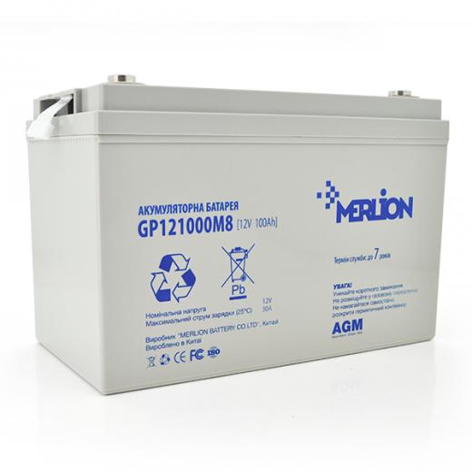 MERLION AGM GP12-100 12V 100AH - описания, отзывы, подробная характеристика