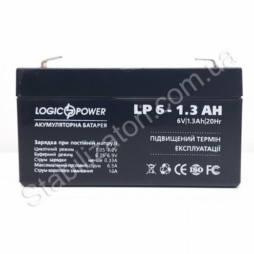 LogicPower LP 6V 1.3Ah - описания, отзывы, подробная характеристика