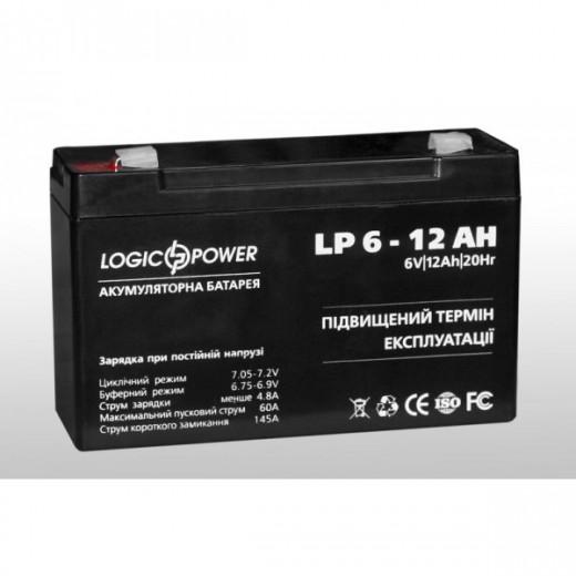 LogicPower LP 6-12 Ah - описания, отзывы, подробная характеристика