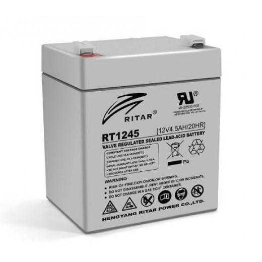 RITAR RT1245, 12V 4.5Ah - описания, отзывы, подробная характеристика