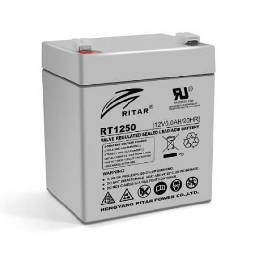 RITAR RT1250, 12V 5.0Ah - описания, отзывы, подробная характеристика