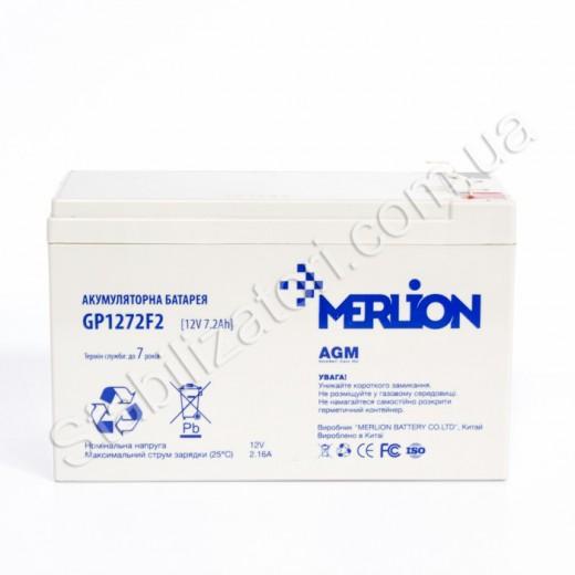 MERLION AGM GP1272F2 12 V 7,2 Ah