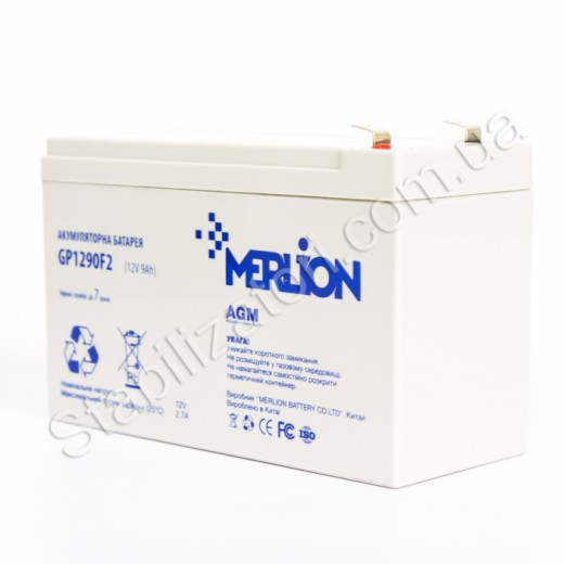 MERLION AGM GP1290F2 12 V 9 Ah