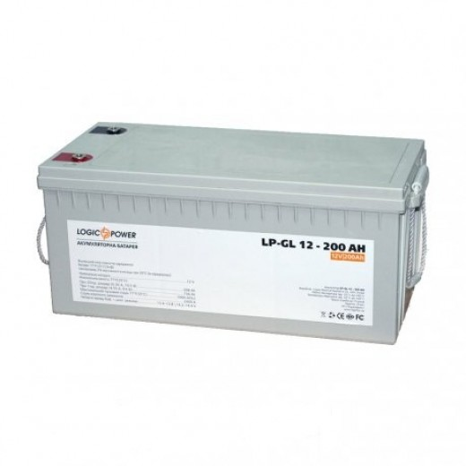 LogicPower LPM-GL 12V 200AH - описания, отзывы, подробная характеристика