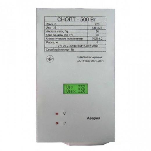 Прочан СНОПТ - 0.5 кВт - описания, отзывы, подробная характеристика