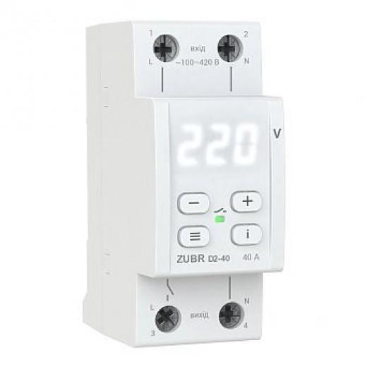 ZUBR D2-40 - реле напряжения - описания, отзывы, подробная характеристика