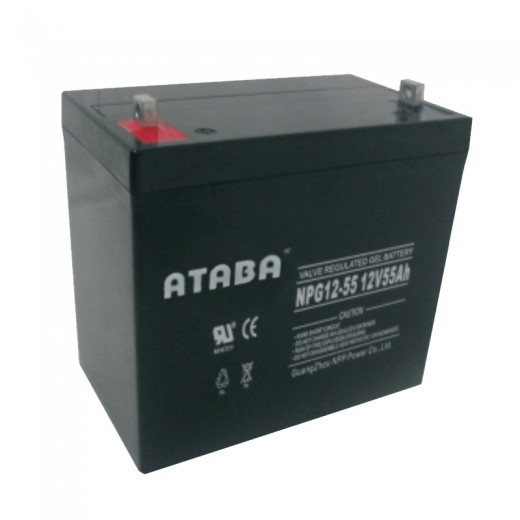 ATABA AGM 12V 40Ah - описания, отзывы, подробная характеристика