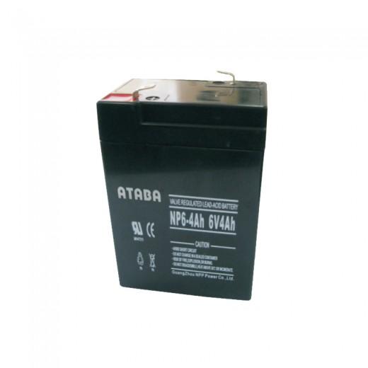 ATABA AGM 6V 4Ah - описания, отзывы, подробная характеристика