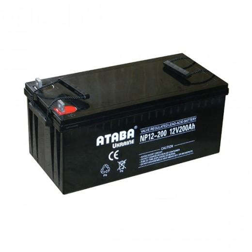 ATABA GEL 12V 200Ah - описания, отзывы, подробная характеристика