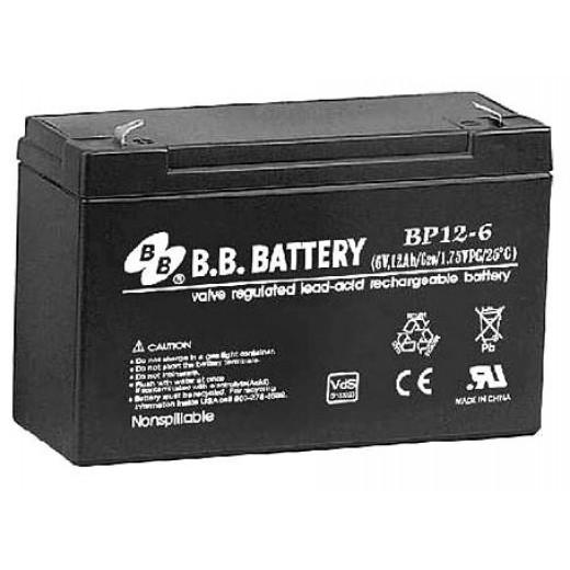 BB Battery BP12-6/T1 - описания, отзывы, подробная характеристика