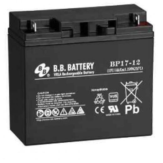 BB Battery BP17-12/B1 - описания, отзывы, подробная характеристика