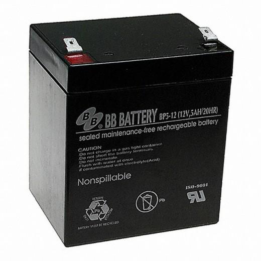 BB Battery BP5-12/T1 - описания, отзывы, подробная характеристика