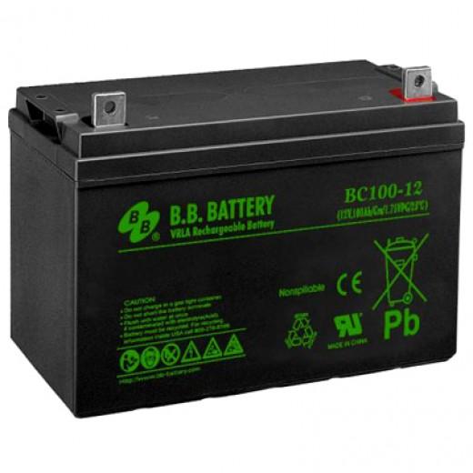 BB Battery BС 100-12 FR - описания, отзывы, подробная характеристика