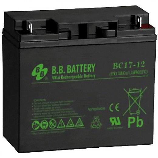 BB Battery BС 17-12 FR - описания, отзывы, подробная характеристика