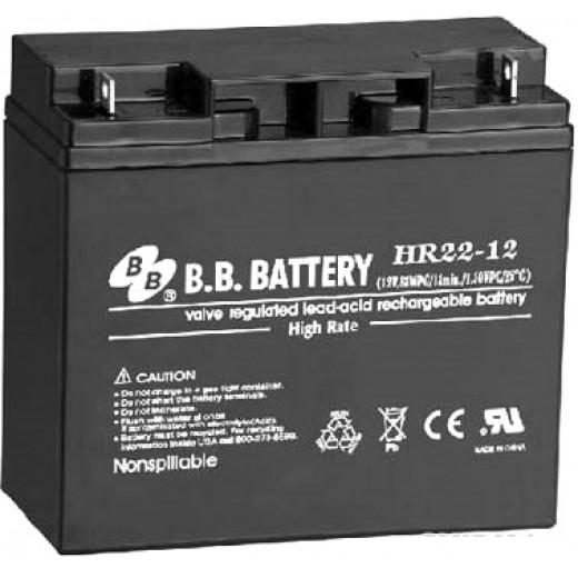 BB Battery HR22-12/B1 - описания, отзывы, подробная характеристика