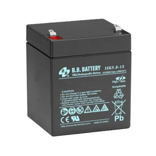 BB Battery HR5.8-12/T1 - описания, отзывы, подробная характеристика