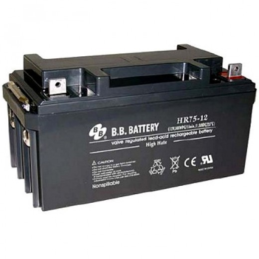BB Battery HR75-12/B2 - описания, отзывы, подробная характеристика