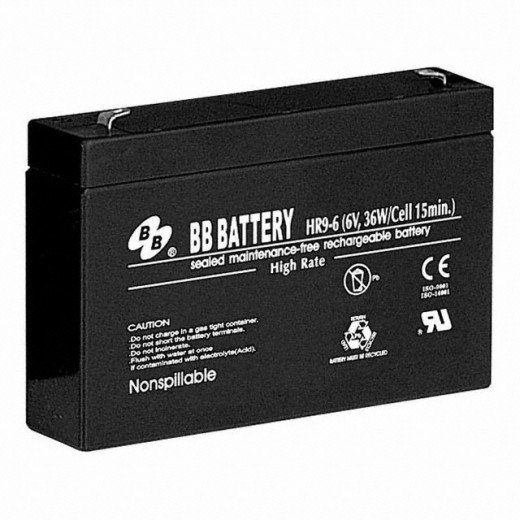 BB Battery HR9-6/T2 - описания, отзывы, подробная характеристика