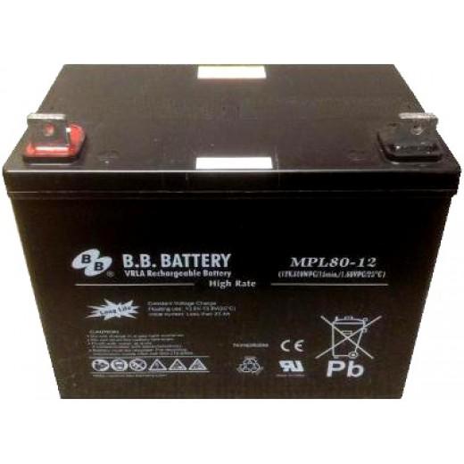 BB Battery MPL80-12/B5 - описания, отзывы, подробная характеристика