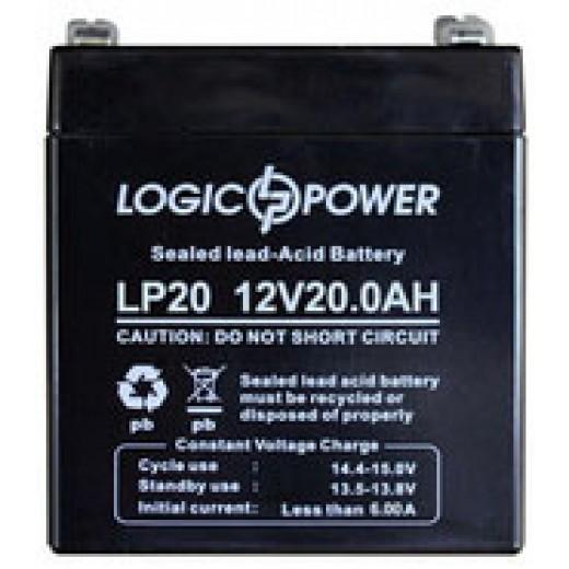 LogicPower 12V 20Ah - описания, отзывы, подробная характеристика