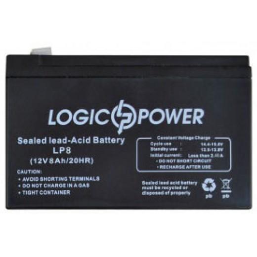 LogicPower 12V 8.0Ah - описания, отзывы, подробная характеристика