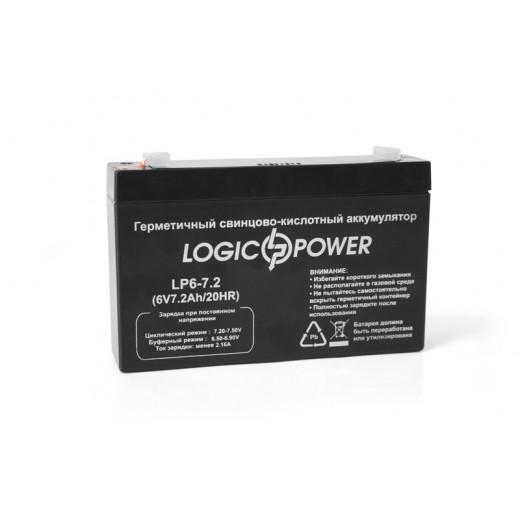 LogicPower LPM6-7.2 AH - описания, отзывы, подробная характеристика