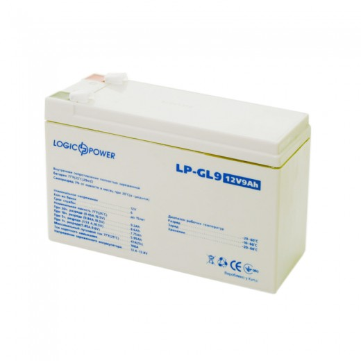LogicPower LPM-GL 12 - 9 AH - описания, отзывы, подробная характеристика