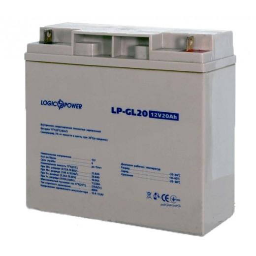 LogicPower LP-GL 12V 20AH - описания, отзывы, подробная характеристика