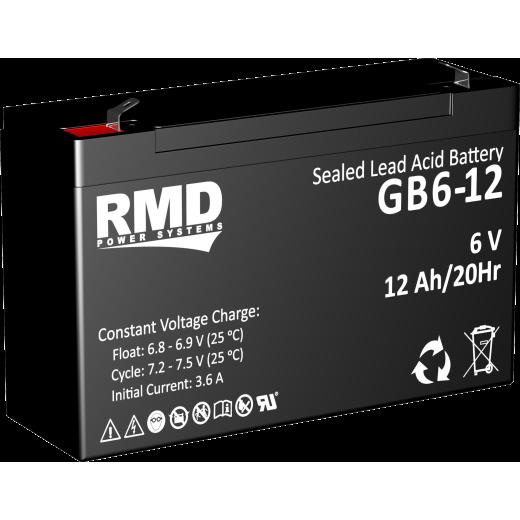 RMD GB 12-6 - описания, отзывы, подробная характеристика