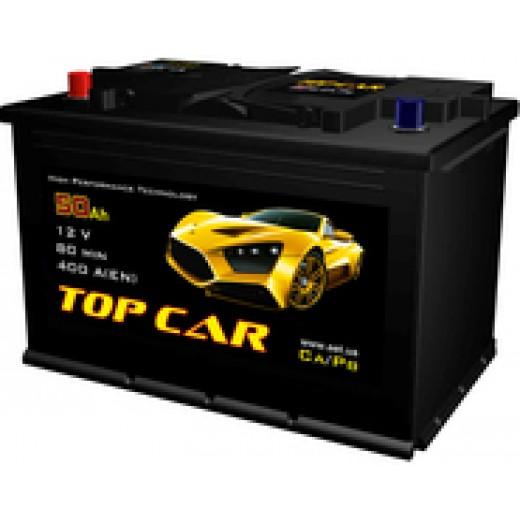 TOP CAR 6СТ-50Ah R+ 400A (EN) - описания, отзывы, подробная характеристика