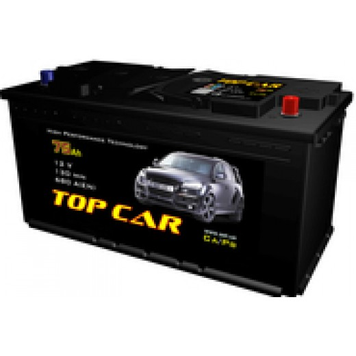 TOP CAR 6СТ-75Ah L+ 720A (EN) - описания, отзывы, подробная характеристика
