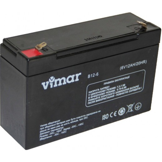 VIMAR B12-6 (12 Ач) - описания, отзывы, подробная характеристика