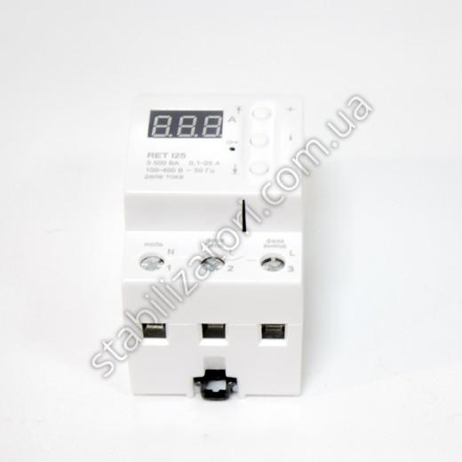 RET I25 - реле тока - описания, отзывы, подробная характеристика