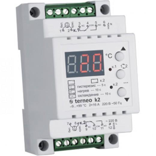 Terneo k2 - терморегулятор - описания, отзывы, подробная характеристика