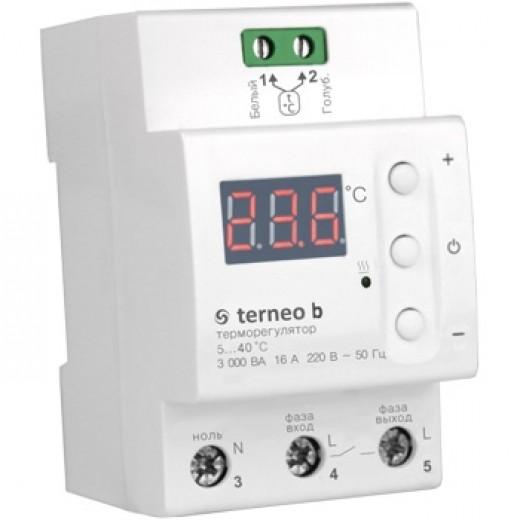 Terneo b - терморегулятор - описания, отзывы, подробная характеристика