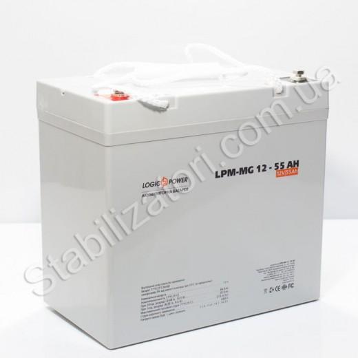 LogicPower LPM-MG 12V 55AH - описания, отзывы, подробная характеристика
