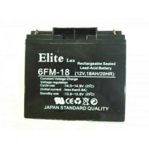 12V 18Ah Eliet Lux - описания, отзывы, подробная характеристика
