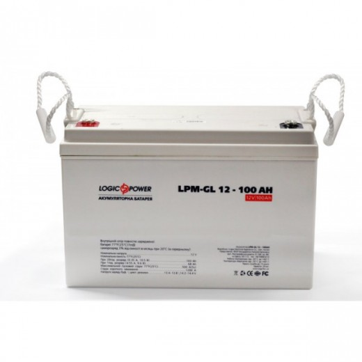 LogicPower LPM-GL 12V 100AH - описания, отзывы, подробная характеристика